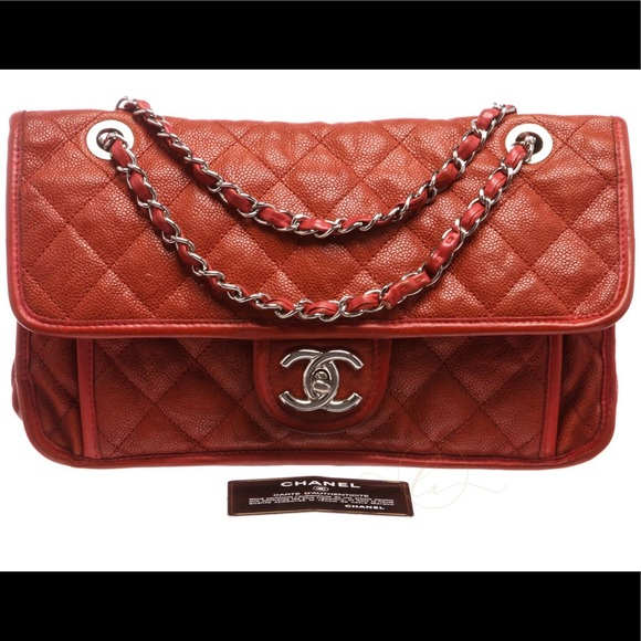 41194869149dbf CHANEL Handbags - 🔴 Chanel Quilted Caviar Leather FrenchRiviera Bag